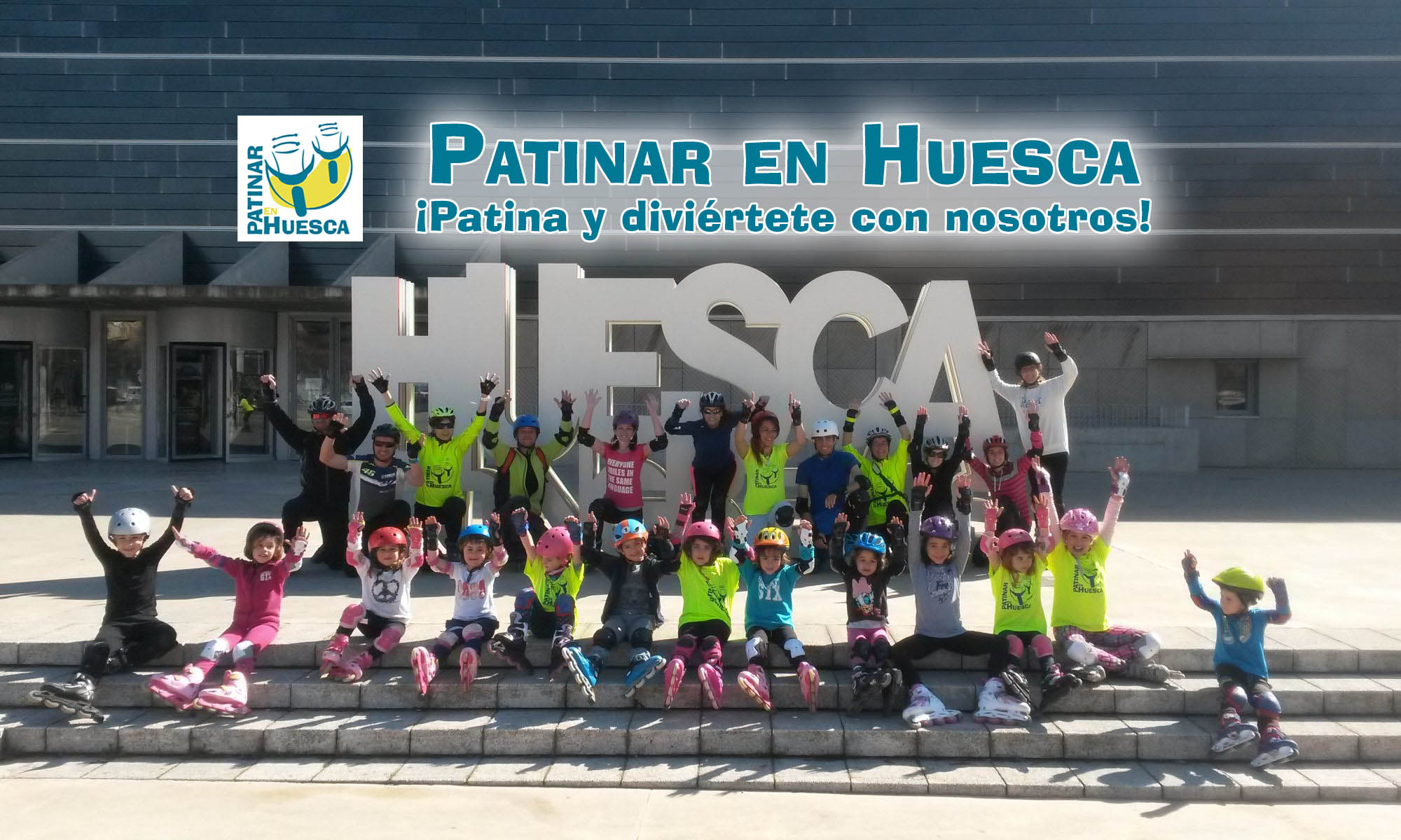 Patinar en Huesca